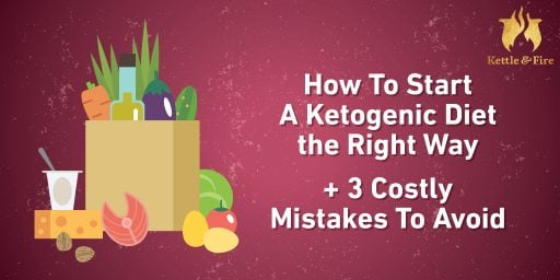 titled photo: How to Start a Ketogenic Diet + 3 Costly Mistakes to Avoid