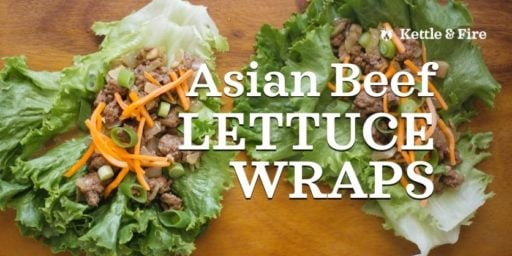 Asian Beef Letuce Wraps