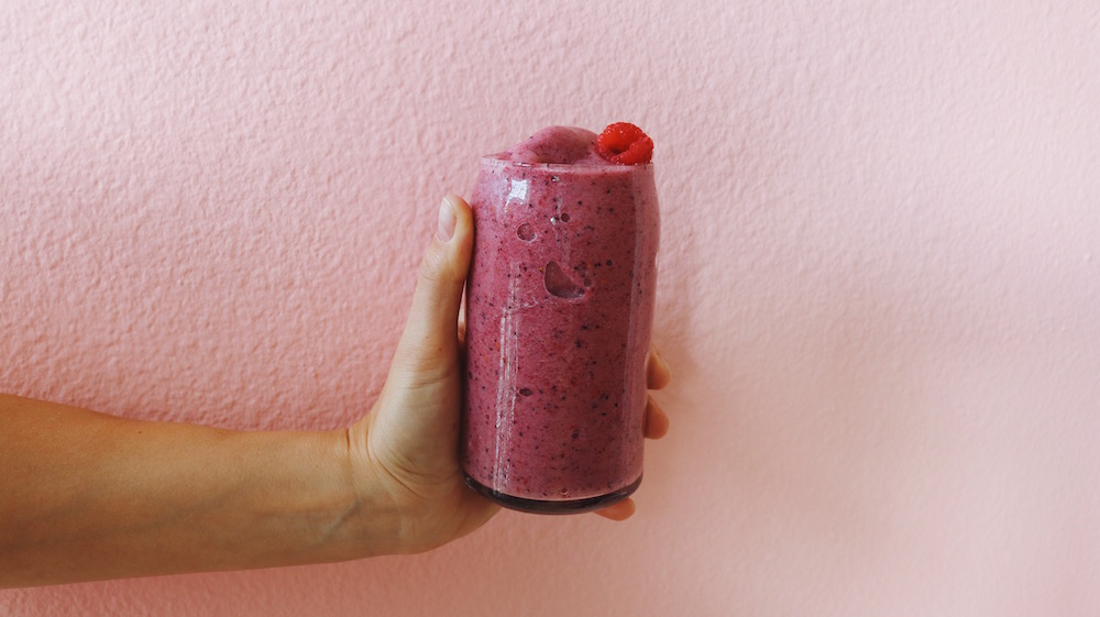 Mixed Berry Bone Broth Smoothie