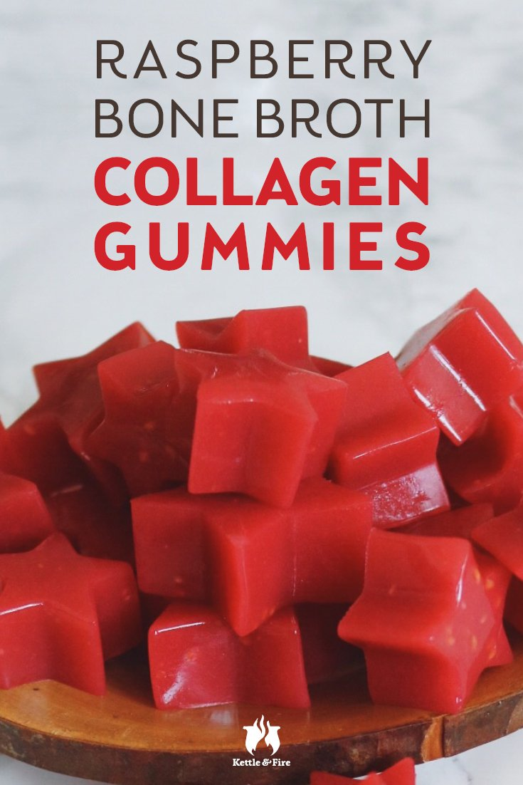 Powered by bone broth and sweetened with only natural sugars, these little collagen gummies are a cinch to make pack a nutritious punch with each bite.