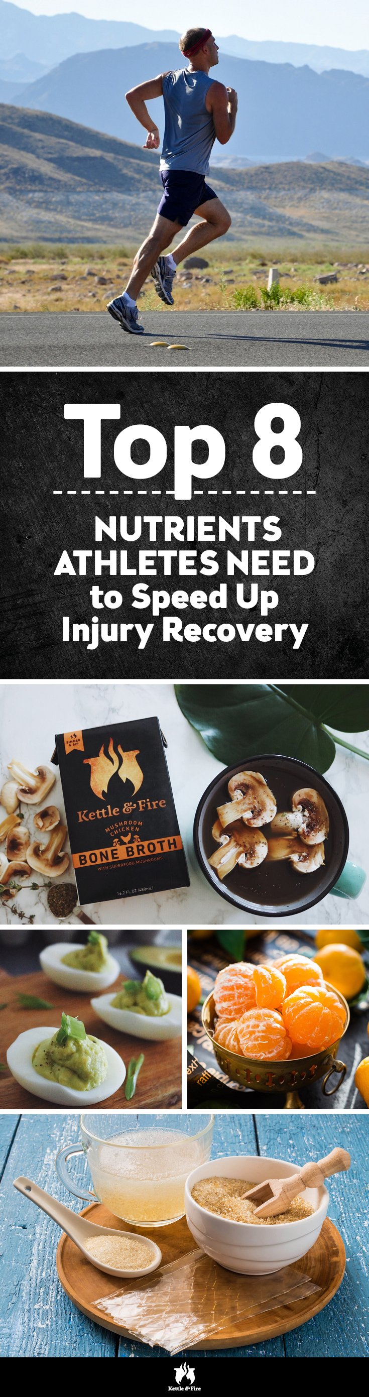 Athletes, here's how you can speed up injury recovery time and prevent future injuries from happening by having specific nutrients in your diet.