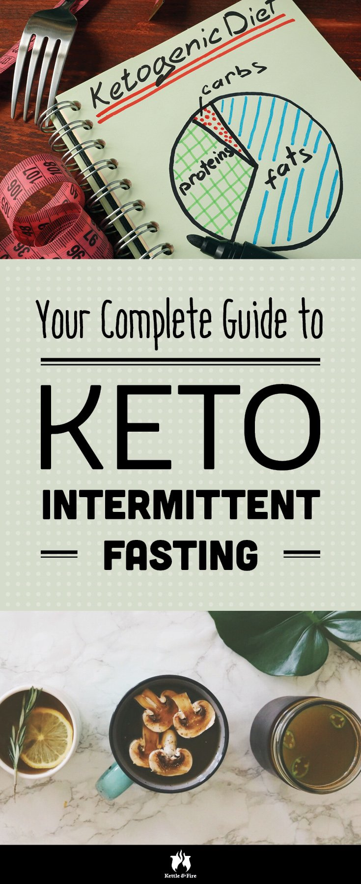 Keto intermittent fasting, is it doable? Find out 5 key benefits of intermittent fasting and how to fast on the keto diet.