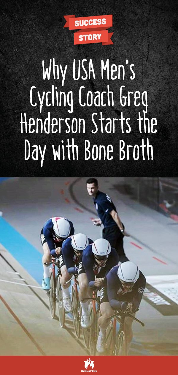 titled image: Why USA Men's Cycling Coach Greg Henderson Uses Bone Broth