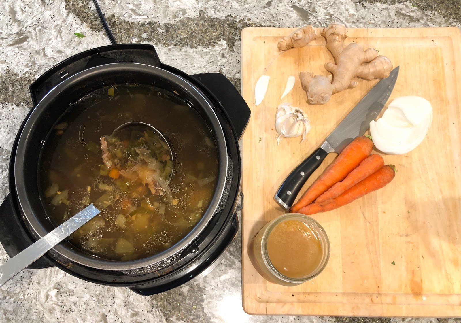 How to make instant pot bone broth: the 2-hour method