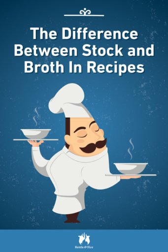 The Difference Between Stock and Broth In Recipes pin