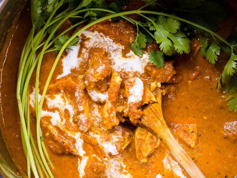 Easy Keto Meals: Instant Pot Butter Chicken