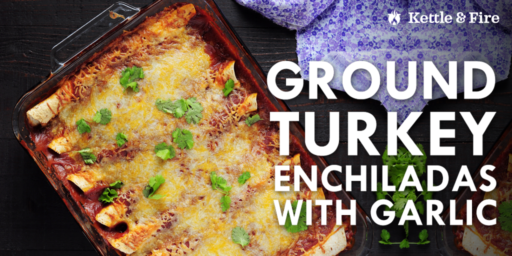 Mexican-style cooking is simplified with these ground turkey enchiladas in an authentic red sauce. 15 minutes of prep and 8 easy steps to bold, delicious flavors.
