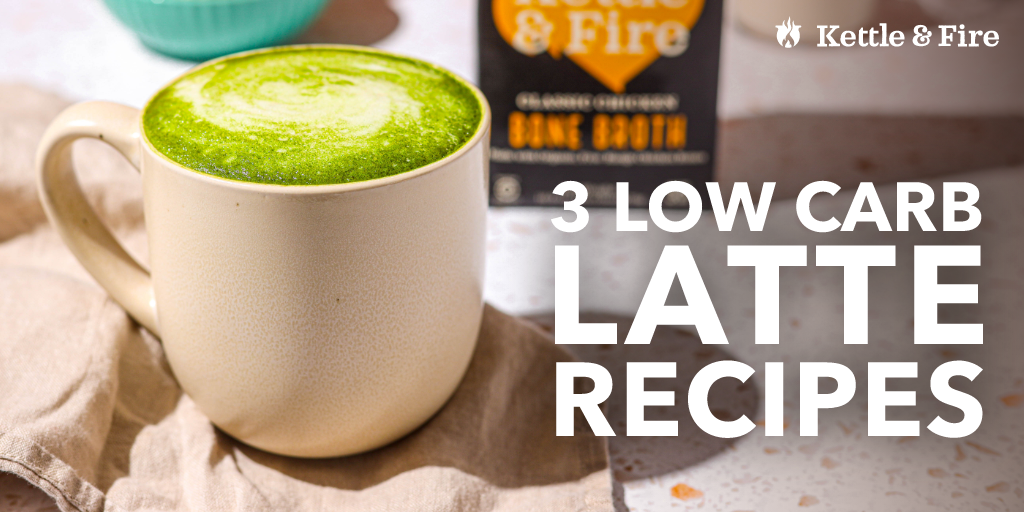 3 Low Carb Lattes You Can Enjoy At Home